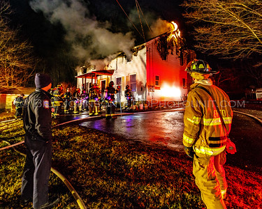 Structure Fire - 291 Lee Town Road - East Fishkill Fire District -1/17/16