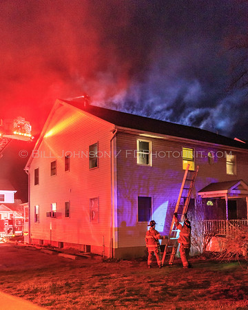 Structure Fire - 30 Fulton Street - Village of Wappingers -  4/11/2017