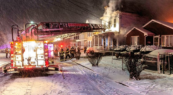 Structure Fire - 300 Mansion Street - City of Poughkeepsie F.D. - 3/14/2017