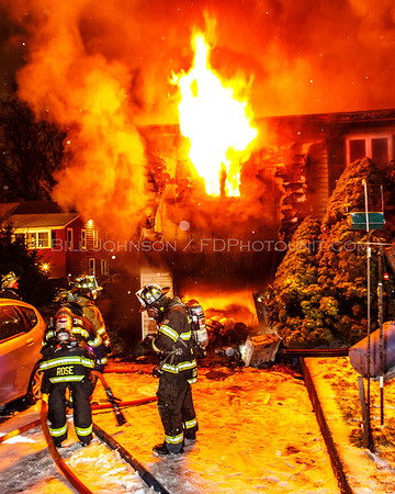 Structure Fire w/fatality  -31 Durocher Terrace - Arlington Fire District 12-29-15