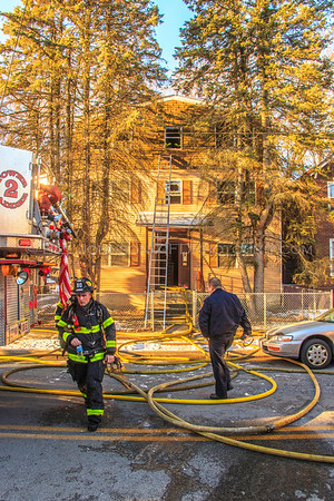 Structure Fire - 330 Mansion Street -  City of Poughkeepsie FD - 3/13/2017