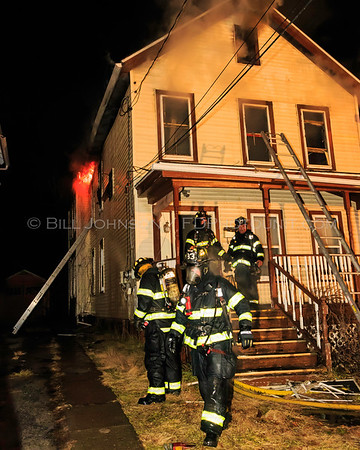 Structure Fire - 44 Harrison Street - City of Poughkeepsie Fire Department - 01/13/2017