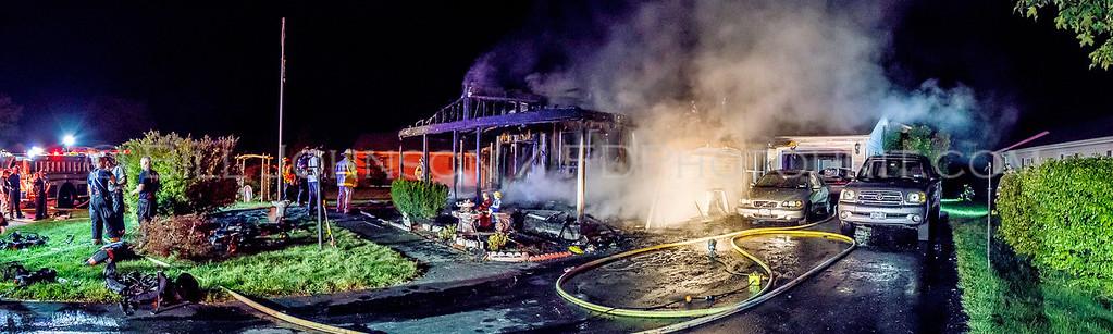 Structure Fire - 46 Vero Drive - Arlington fire District - 8/27/2016