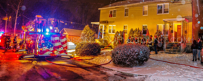 Structure Fire  - #6 High St. - Village of Wappingers FD. - 2/15/16