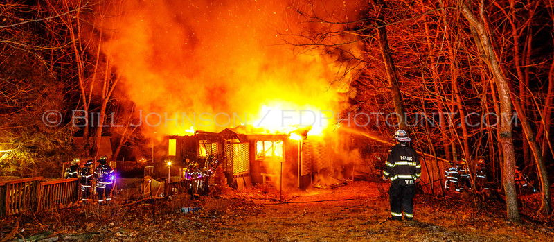 Structure Fire - 71 North White Rock Rd. - Beekman Fire District -2/27/16