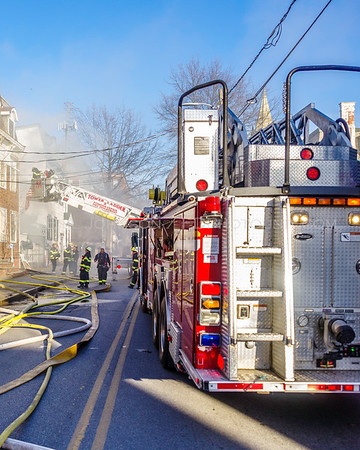 Structure Fire  -  91 Cannon Street. - City of Poughkeepsie Fire Department -4/1/2018