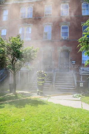 Structure Fire - Eastman Terrace  Apartments - City of Poughkeepsie FD