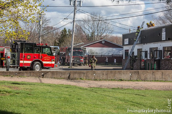 Structure Fire, Greenwood, N.S. May 4, 2017