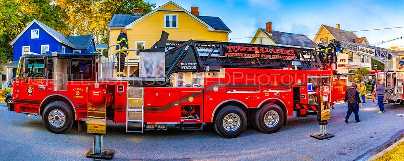 Structure Fire - LaGrange Ave - Arlington  Fire District  - 10/19/2018