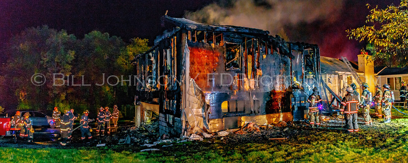 Structure Fire - Pleasant Ridge Rd. - Union Vale Fire District - 8/28/2016