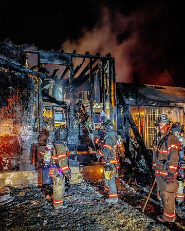 Structure Fire - Pleasant Ridge Rd. - Union Vale Fire District - 8/28/2016