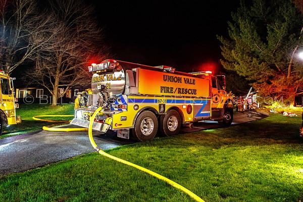 Structure Fire - 3254 Rte 82 - Union Vale Fire District -4/27/16