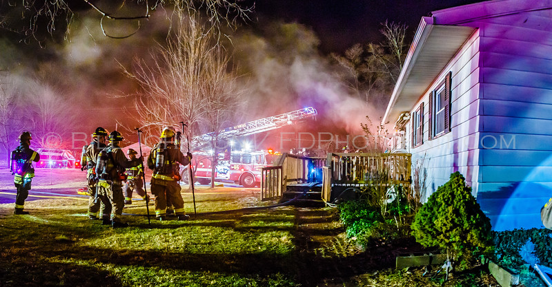 Structure Fire - Shenandoah Road - East Fishkill Fire District -2/6/16
