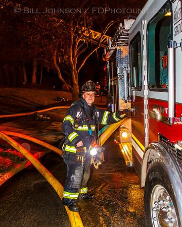Structure Fire - 107 South Hamilton St - City of Poughkeepsie Fire Department - 4/5/2014