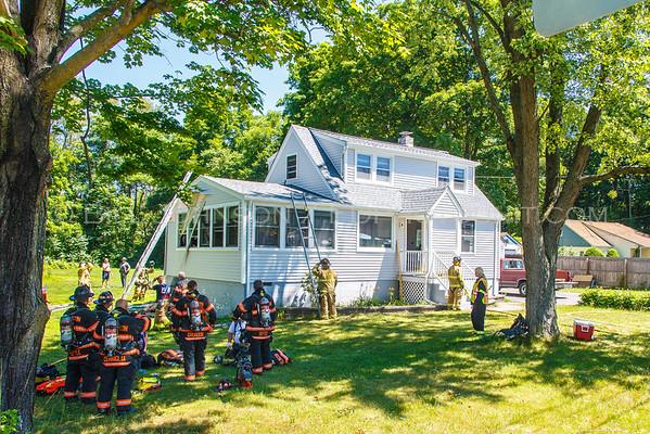 Structure Fire - Titusville Road - La Grange Fire District -7/4/2016