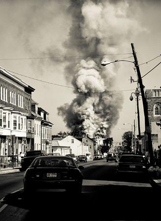 13JUN08 - York City, PA  300 block os South Queen St. 4 Alarm RSF