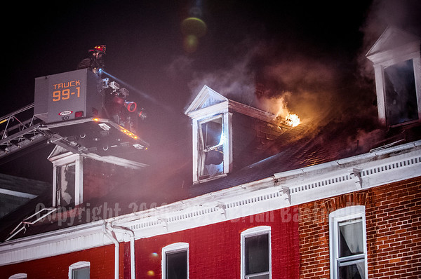 12FEB13 York City 2nd Alarm RSF 600 Blk Salem Ave.