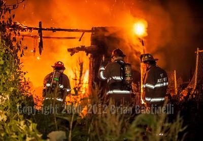 28MAY13 York CIty Liberty Court Garage Fire