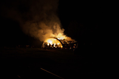 Barn Fire - South Strong Road, Strong, Maine - July 3rd, 2011