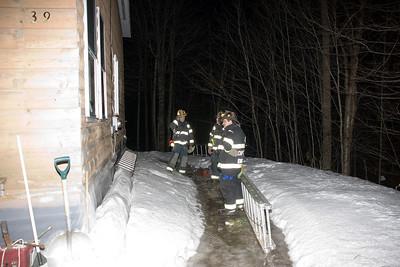 Chimney Fire - 02/14/09 - Weeks Mills Road