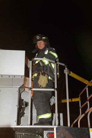 Chimney Fire - Cushman Drive - February 12th, 2012
