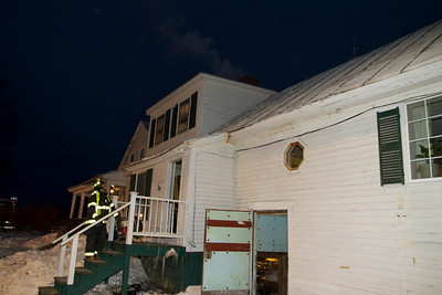 Chimney Fire - Knowleton Corner Road - January 18th, 2011