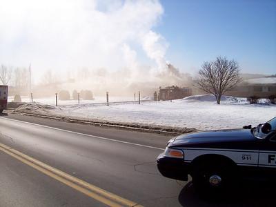 Farmington Motel Fire - 02/18/09 - Farmington Falls Road