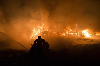 Knowlton Corner Farm - Stucture Fire - 12/29/11