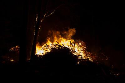 Saw Mill Fire - Knowleton Corner Road - April 14th, 2012