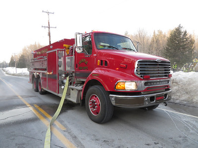 Structure Fire - New Vineyard Road - March 1st, 2014