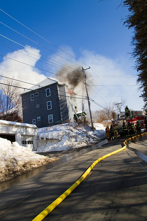 Structure Fire - 24 Jewell Street Jay, Me - February 17th, 2011