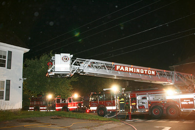 Structure Fire - Church Street - August 25th, 2009