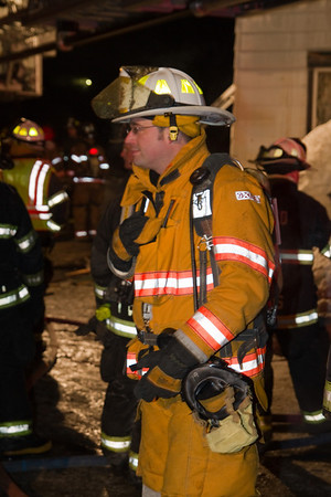 Structure Fire - Cross St. Wilton, ME - February 9th, 2011