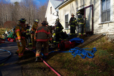 Structure Fire - Jay Road, Wilton - December 5th, 2012