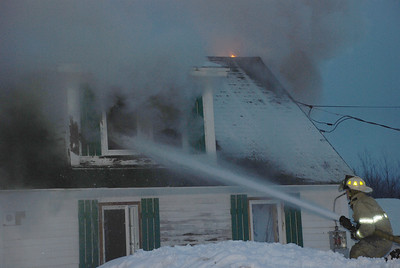 Structure Fire - New Vineyard - March 10th, 2011