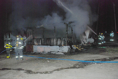 Structure Fire - Rand Rd, Industry, Maine - November 6th, 2011