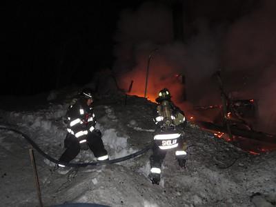 Structure Fire Varnum Pond Road, Temple 030315