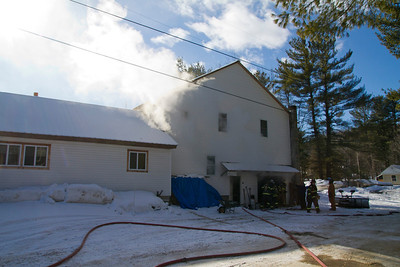 Stucture Fire - Mutual Aid to Wilton - January 28th, 2014