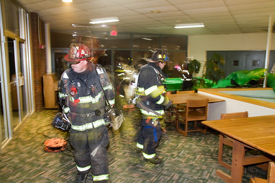UMF Student Center - Heating Unit Fire - March 4th, 2011