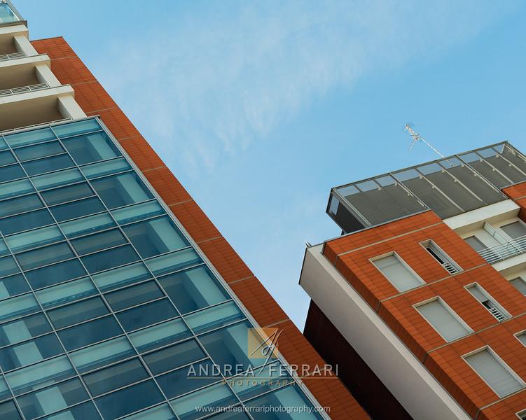 Glass steel brick constructions - 2