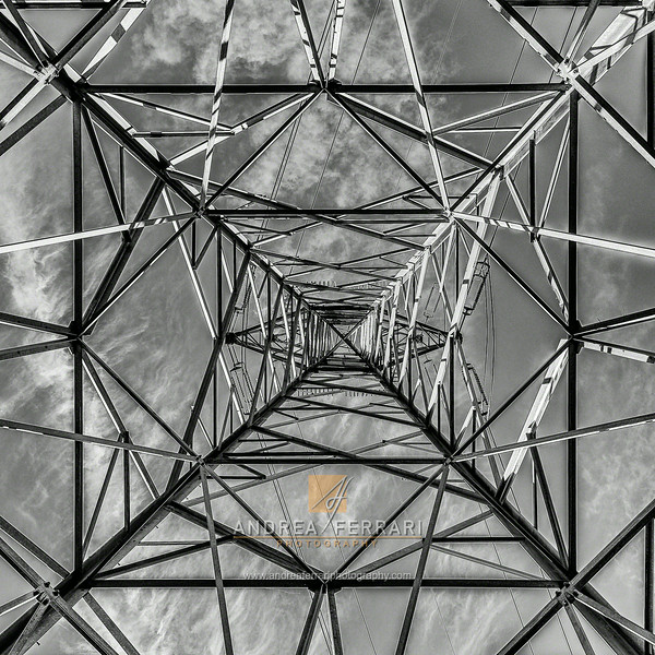 High voltage pylon #1