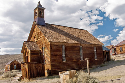 Church in Bodie, California