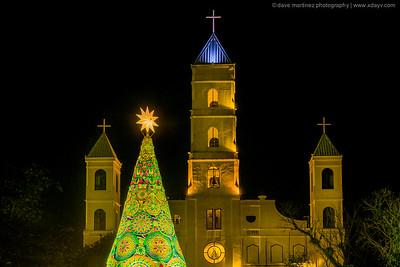Santo Niño Parish Church at Night