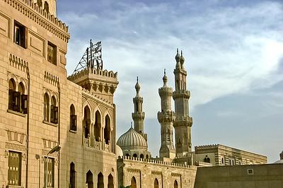 Mosque Minarets  Cairo