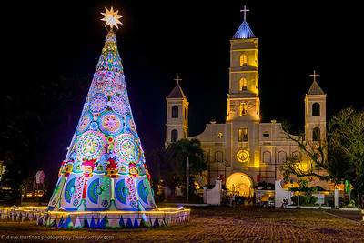 Santo Niño Parish Church at Night