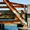 Trestle bridge detail