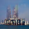 Offshore oil rig, Port of Galveston