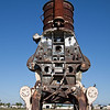 Abandoned cotton compress, Galveston TX