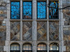 Ornamental stone work and windows