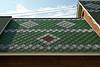 Ornamental shingling on a roof